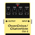 OS-2 OverDrive / Distortion(オーバードライブ / ディストーション)