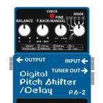 PS-2 Digital Pitch Shifter / Delay(デジタルピッチシフター / ディレイ)