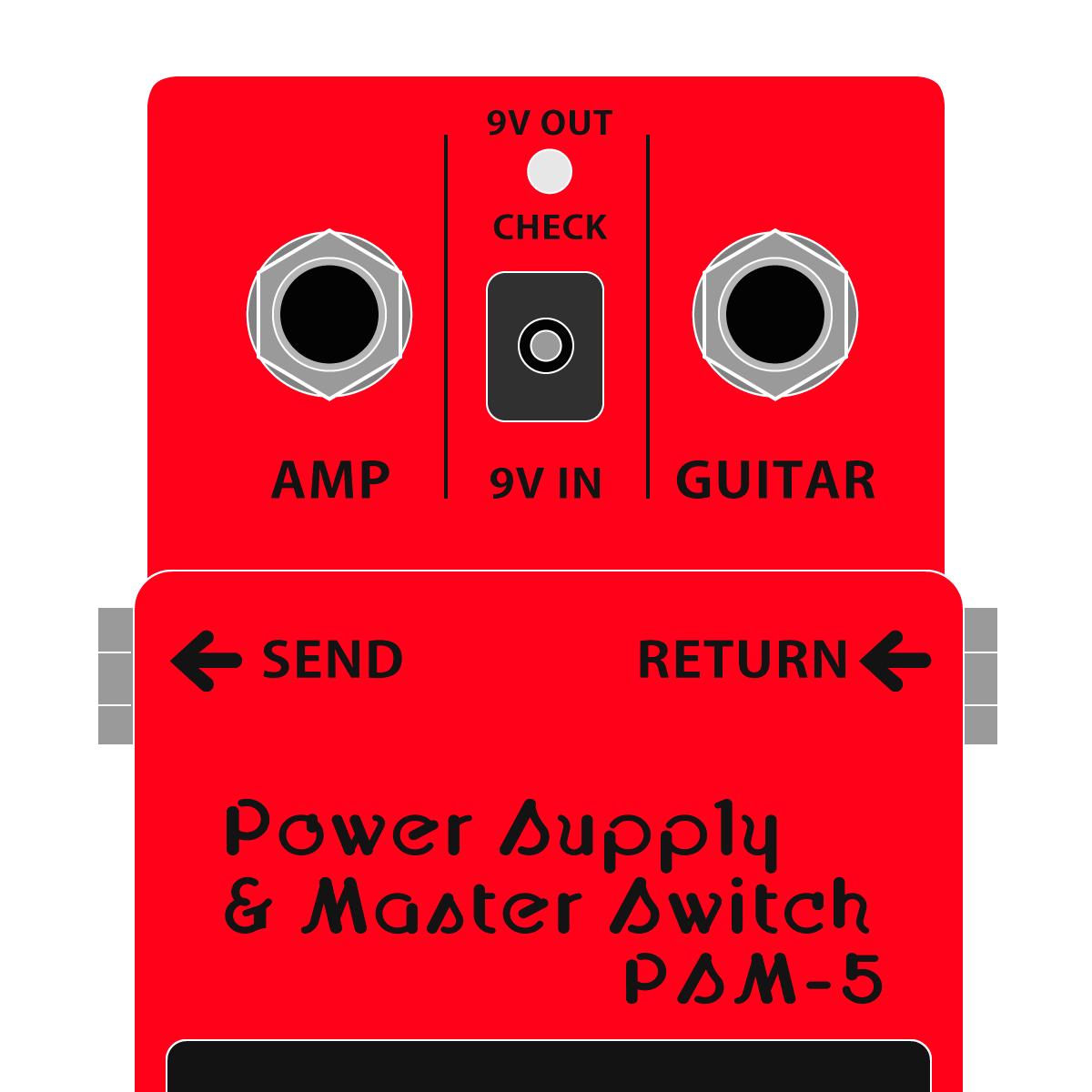 PSM-5 Power Supply & Master Switch(パワーサプライ&マスタースイッチ)