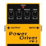 PW-2 PowerDriver(パワードライバー / オーバードライブ)