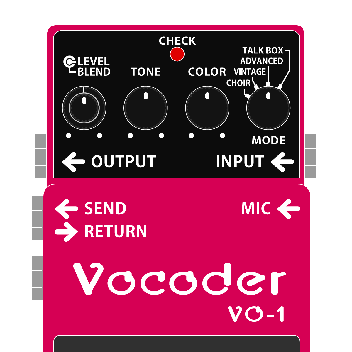VO-1 Vocoder(ボコーダー)